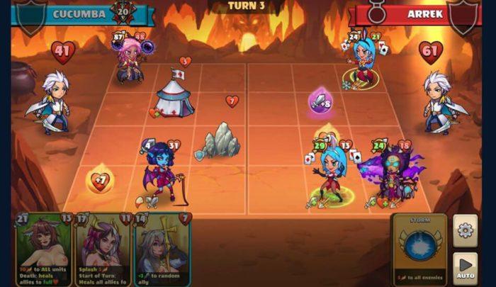 chick wars turn based gameplay